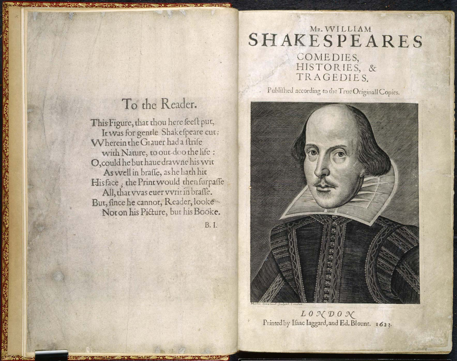 First Folio di Shakespeare